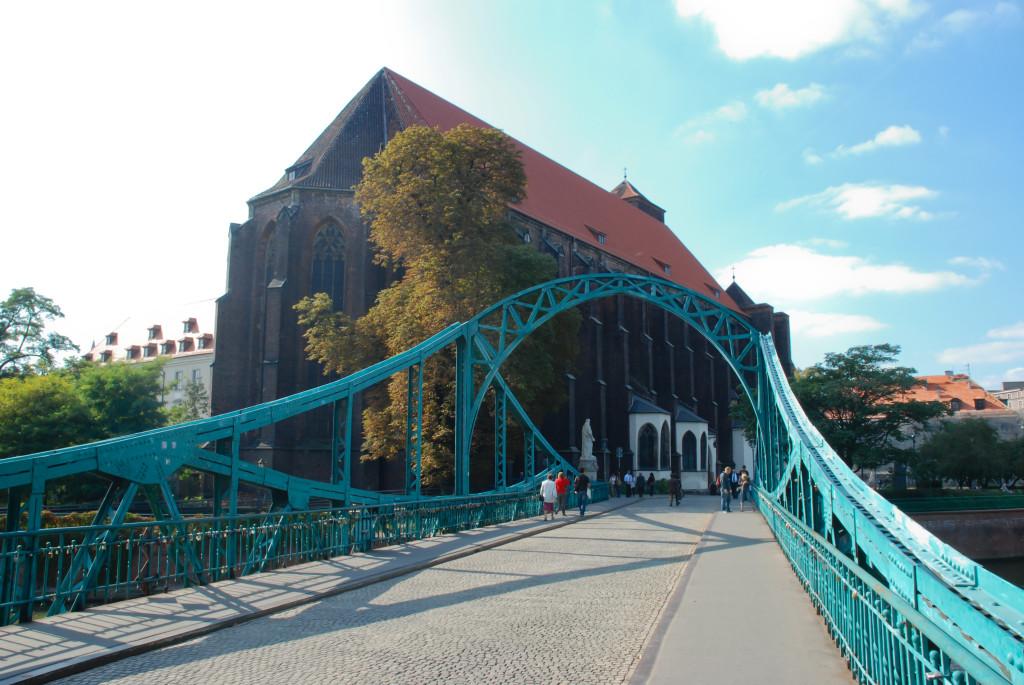 Тумский мост, Вроцлав, 2010 г.